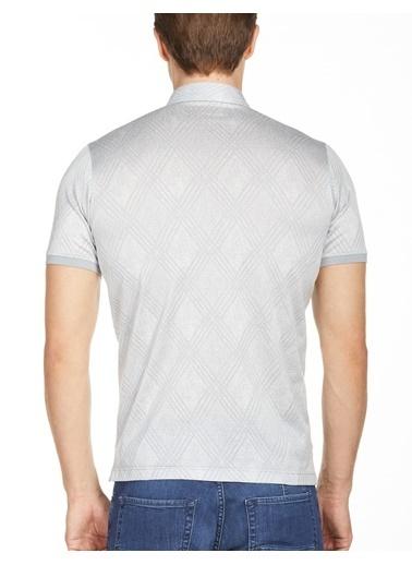 Bisse TS20Y20111 Ts 20111 Merserize Jakarlı Gömlek Yaka Tshirt Gri